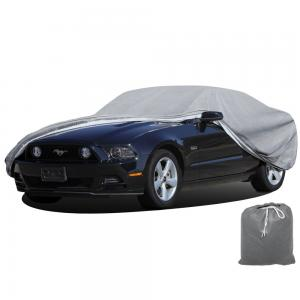 OxGord® Superior Car Cover - Basic Out-Door 4 Layers - Tough Stuff - Ready-Fit / Semi Custom - Fits up to 229 Inches