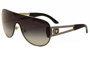 Versace Women 1508904003 Gold/Brown Sunglasses 41mm