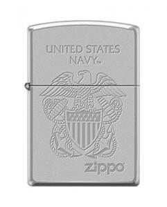 Zippo US Navy Globe Cerulean Pocket Lighter