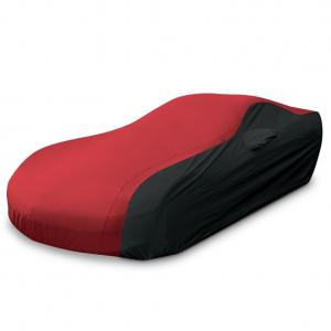 C5 Corvette Ultraguard Car Cover for Indoor/Outdoor Protection Red/Black