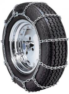 """Security Chain Company QG1130 Quik Grip Type PL Class """"S"""" Passenger Vehicle Tire Traction Chain - Set of 2"""