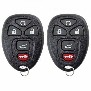 2 KeylessOption Replacement Keyless Entry Remote Start Control Key Fob Compatible with 15913415