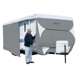 Classic Accessories 73163 Overdrive PolyPro III Deluxe Travel Trailer Cover, Fits Up To 20'