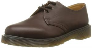 Dr.Martens PW Dark Brown Leather Mens Shoes