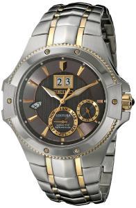 Seiko Men's SNP108 Analog Display Japanese Quartz Two Tone Watch
