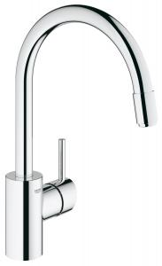 Grohe 3134900E Concetto Single Handle Pull-Down Spray Kitchen Faucet