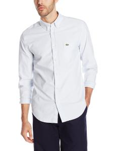 Lacoste Men's Long-Sleeve Oxford Shirt