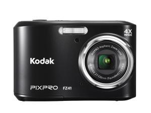 "Kodak PIXPRO Friendly Zoom FZ41 16 MP Digital Camera with 4X Optical Zoom and 2.7"" LCD Screen (Black)"