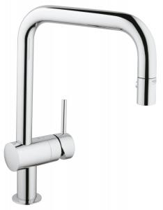 Grohe 32319000 Minta Single-handle Pull-down Spray head Kitchen Faucet