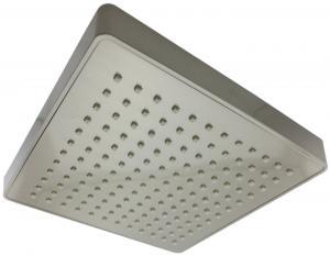 Vida Alegría Spashower RAIN 8-Inch Square Soft Rain 2.5 GPM Shower Head (Brushed Nickel)