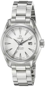Omega Women's 231.10.30.61.02.001 Aqua Terra Silver Dial Watch