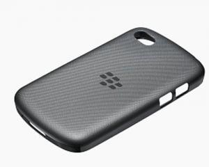 BlackBerry ACC-50724-301 Black Soft Shell Cover for Rim BlackBerry Q10- Retail Packaging - Black