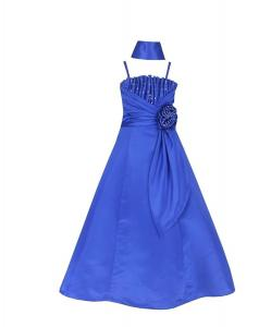 Satin Occasion Pageant Wedding Bridesmaids Girls Dress 4 to 14 Years