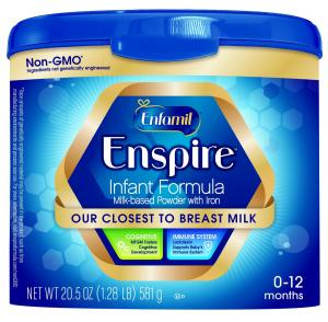 Enfamil Enspire Powdered Baby Formula Tub, 20.5 Ounce