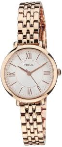 Fossil Women's ES3799 Jacqueline Rose Gold-Tone Stainless Steel Watch with Link Bracelet