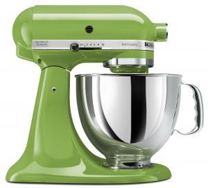 Máy trộn KitchenAid KSM150PSGA Artisan Series 5-Qt. Stand Mixer with Pouring Shield - Green Apple