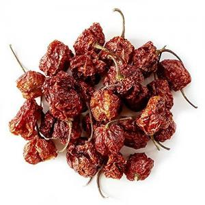 Carolina Reapers 6 Dry Whole Pepper Pods * Hottest Peppers in the World | Free First Class Shipping in USA |