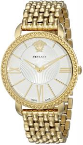 Đồng hồ Versace Women's VQQ060015 New Krios Gold-Tone Stainless Steel Watch