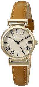 Đồng hồ Anne Klein Women's AK/2246CRHY Gold-Tone and Honey Leather Strap Watch