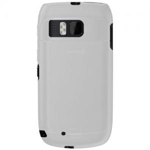 Amzer Soft Gel TPU Gloss Skin Case for Nokia E6-00 - 1 Pack - Frustration-Free Packaging - Clea