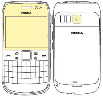 Martin Fields Overlay Plus Screen Protector (Nokia E6) - Includes Camera Lens Protector