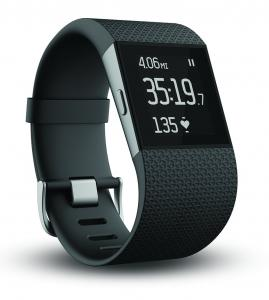 Đồng hồ Fitbit Surge Fitness Superwatch, Black, Large