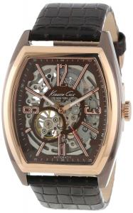 Đồng hồ Kenneth Cole New York Men's KC1791 Brown Rose Gold Automatic Barrel Watch