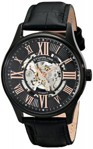 Men's 747.03 Atrium Automatic Watch with Black Leather Band