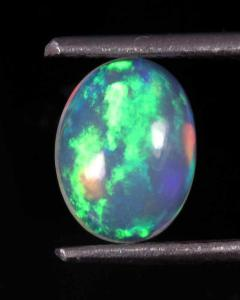 1.13Cts. NATURAL ETHIOPIAN GREAT!! WELLO FIRE OPAL OVAL CABOCHON LOOSE GEMSTONE 1349