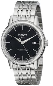 Tissot Men's T0854071105100 T Classic Powermatic Analog Display Swiss Automatic Silver Watch
