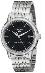 TissotMen's T0854071105100 T Classic Powermatic Analog Display Swiss Automatic Silver Watch