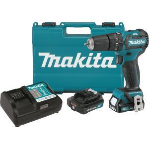 "Makita PH05R1 12V MAX CXT Lithium-Ion Brushless Cordless Hammer Driver-Drill Kit, 3/8"""