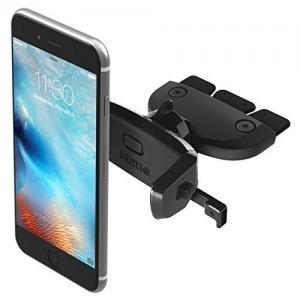 iOttie Easy One Touch Mini CD Slot Car Mount Holder Cradle for iPhone 6s Plus/6s/6, Galaxy S7/S7 Edge, EdgeS6/S6 Edge, Galaxy Note 5, Nexus 6, & Smartphones