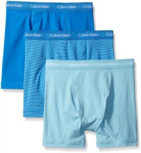 Calvin Klein Men's 3-Pack Cotton Stretch Boxer Brief