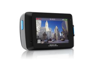 "Magellan MiVue 658 1080p HD Dash Camera with 2.7"" Advanced Touchscreen Display & Wi-Fi Conectivity (Black)"