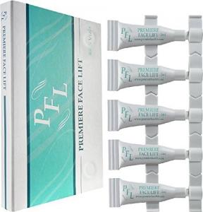 Kem giữ ẩm Premier Face Lift -Become Ageless Instantly with Premier Face Lift -5 Vials 10ml -Remove Wrinkles, Bags, Lines, Puffiness & Dark Circles Instantly -Powerful Clinical Anti Wrinkle 2016 Edition