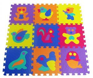 Thảm cho bé ProSource Kids Animals Interlocking Puzzle 9 Tiles Foam Play Mat