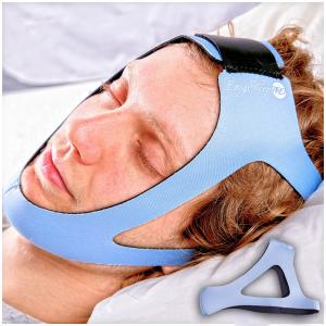 EasySleep Pro Light Blue Adjustable Stop Snoring Chin Strap