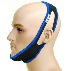 Chin Strap - The Original Anti Snoring Jaw Support [30 inch / Large] - Stop Snore Solution - Sleep Better Devices - CPAP Aids - Snore No More - Sleeping Relief Alternative to Mouthpiece Nose Strips