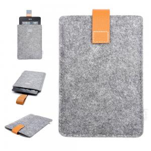 Inateck Kindle Paperwhite Case Cover Felt Sleeve for Amazon All-New Kindle Paperwhite 2015 300 PPI 3rd Gen/ 2014/ 2013/ 2012 and Kindle Fire HD 6, Grey