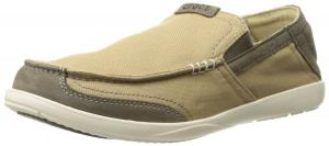 crocs Men's Walu Luxe Canvas Slip-On Loafer