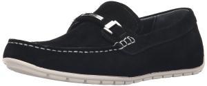 Calvin Klein Men's Ignacio Slip-On Loafer, Black, 7 M US