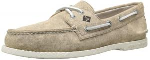Sperry Top-sider Men's A/o 2-eye White Cap Canvas Boat Shoe