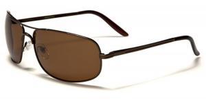 L/XL Wide Frame Men's Polarized Fishing Golf Aviator Style Sunglasses