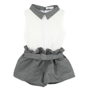 LittleSpring Little Girls' Clothing Set Belt