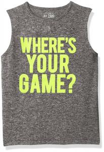 The Children's Place Boys' Active Tank Top
