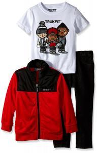 Splendid Little Boys' Long Sleeve Pullover Football Hoodie