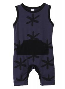 Baby Boys Summer Sleeveless Printing Cotton Romper Jumpsuit