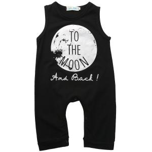 Gobrillant Boy Sleeveless Newborn Romper Bodysuit Jumpsuit Baby Clothes Outfits