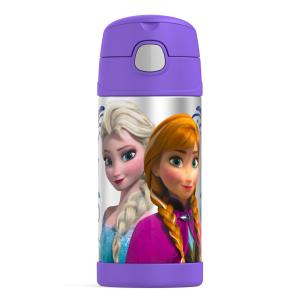Thermos Funtainer 12 Ounce Bottle, Frozen Purple